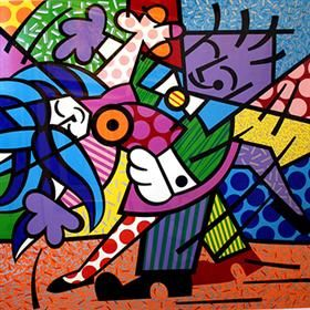 Dancers - Romero Britto