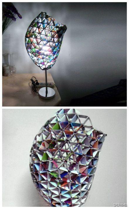 paper folding lamp shade