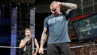 "The host of ""The Highlight Reel"" questions Orton's judgment to accept a match against Brock Lesnar at SummerSlam."