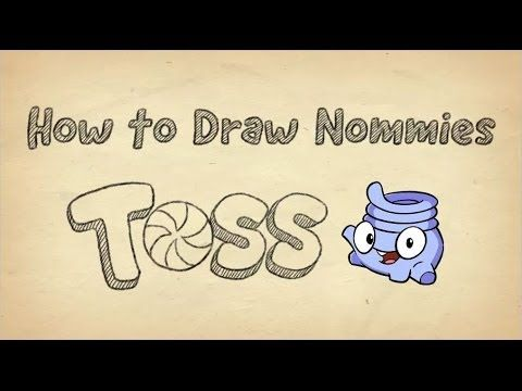 How to Draw Toss from Cut the Rope 2 (+playlist)