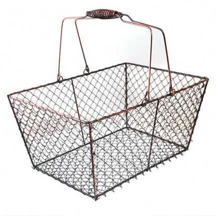 12 Modern Wire Baskets For Your Home