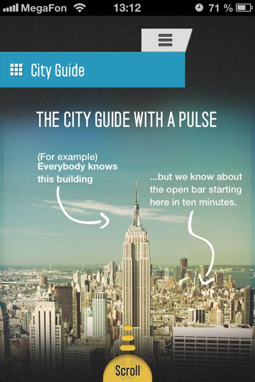 MyCityWay - iPhone app design
