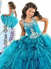 Junior Pageant Dresses: PageantDesigns.com