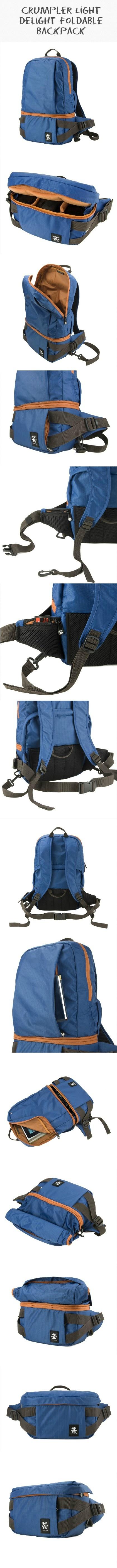 Light Delight Foldable Camera Backpack - #Crumpler #Camera_Backpack http://crumpler.eu/index.cfm?seite=photo=EN=8318