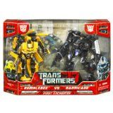 Hasbro Transformers Bumblebee Vs Barricade First Encounter 2 Pack [Toy] (Barcode EAN = 0653569241249). http://www.comparestoreprices.co.uk/action-figures/hasbro-transformers-bumblebee-vs-barricade-first-encounter-2-pack-[toy].asp