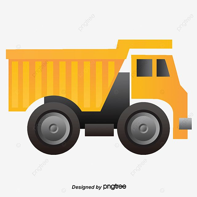 Muck Truck Yellow Construction Vehicles Truck Vector Construction Vector Truck Clipart Png Transparent Clipart Image And Psd File For Free Download Construction Vehicles Trucks Clip Art