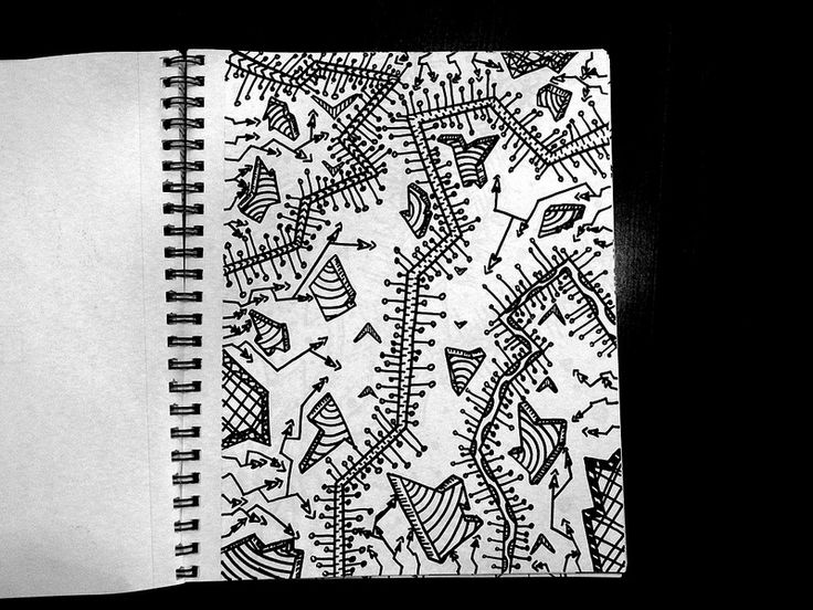 Cool patterns to draw with sharpie