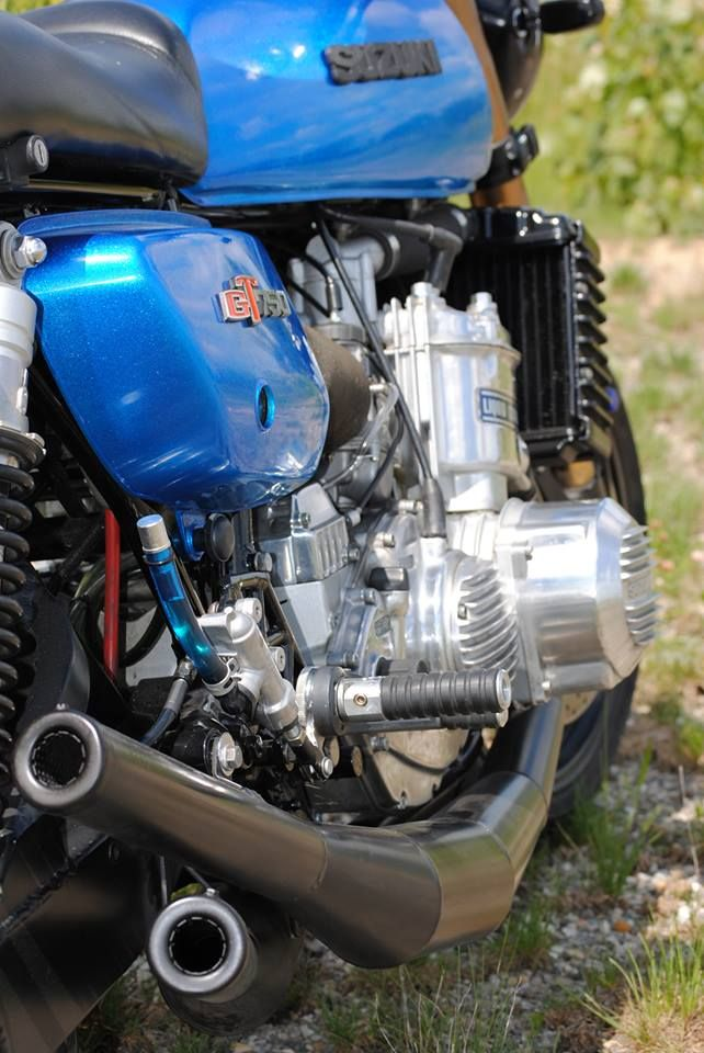 "Suzuki GT 750 ""Bad Buffalo"" by Sean Eviston"