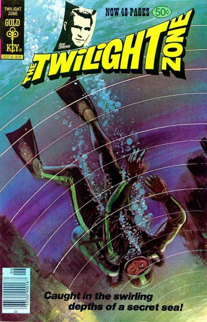 Book Cover Graphism Zone : Best twilight zone comic books images on pinterest