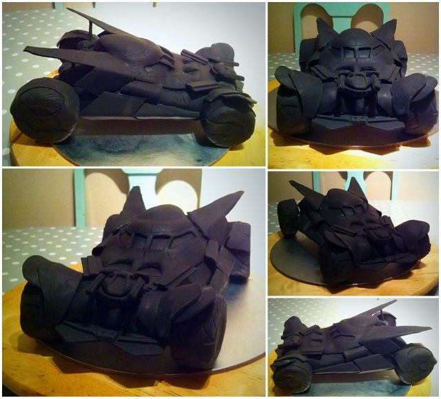 Bat mobile cake. Please see video https://youtu.be/sBjB3usUatE