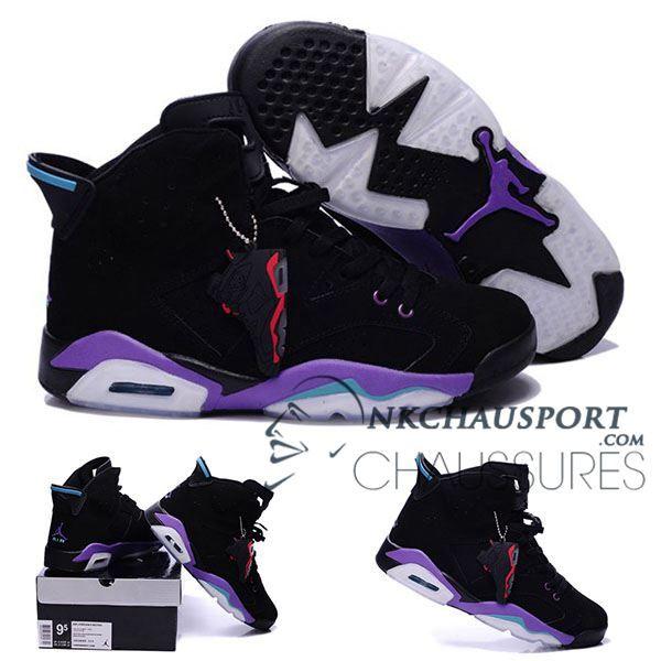 quality design b636a 34517 ... Nike Air Jordan 6   Classique Chaussure De Basket Homme Noir-7 ...