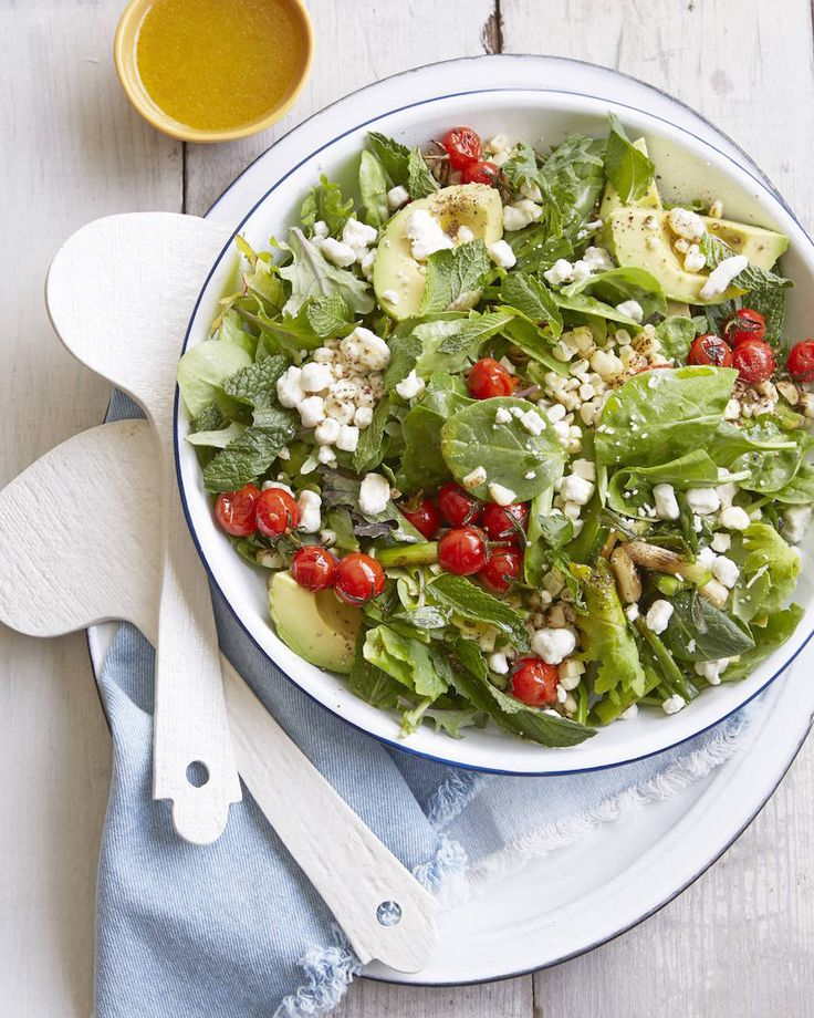 Summer Power Salad from www.whatsgabycooking.com (@whatsgabycookin)