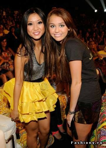 miley, miley cyrus, and brenda song image