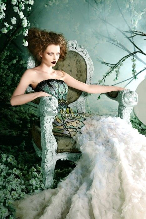 mademoiselle-vanina:    Introducing Michael Cinco Madame Butterfly/Wedding  Couture Spring/Summer 2012 Collection.