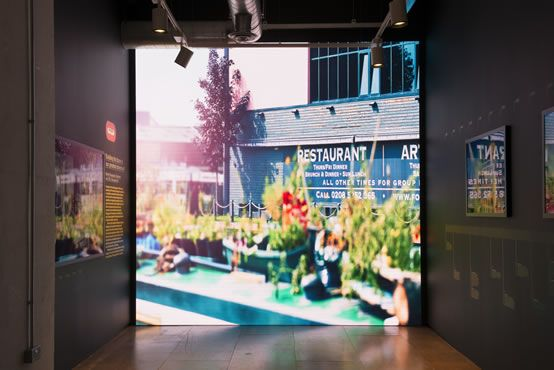 LED Video Wall - Dynamo LED Displays install custom built LED video displays with as little as 10m depth. Our high definition LED video walls are perfect retail, office, industrial and residential solutions.