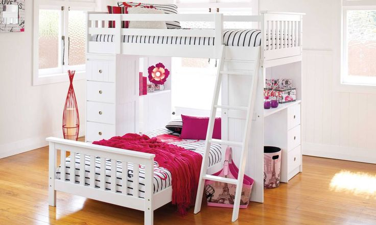 Astro Loft Bunk by John Young Furniture from Harvey Norman NewZealand