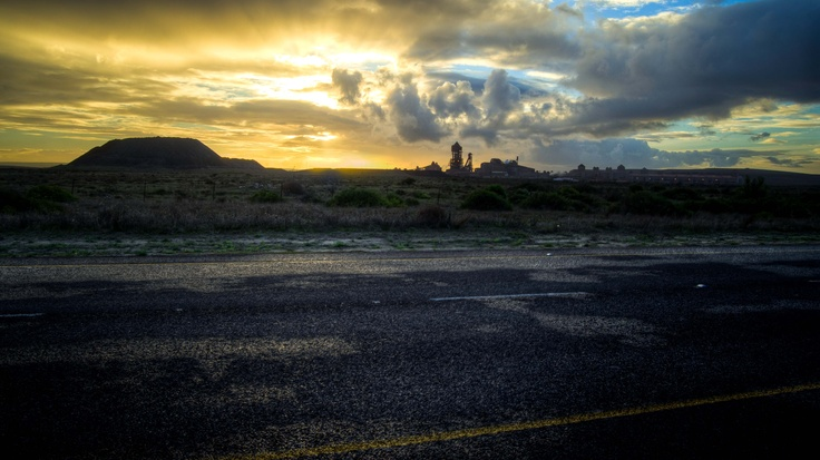 A second one of Saldanha Steel works, West Coast of South Africa.