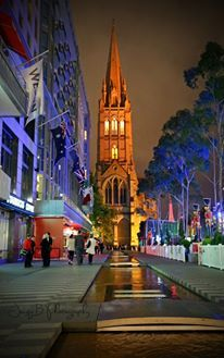 Melbourne at night 29th November 2013 AU$50 Christmas Photography
