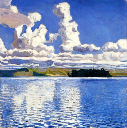 bofransson: Cloud TowersAkseli Gallen-Kallela - 1904 (ALONGTIMEALONE)