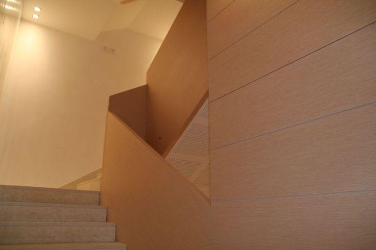 Residence Althea (Ponzano Veneto - Treviso) Particolare delle scale interne del Residence