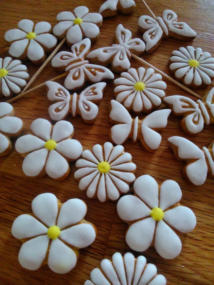 Flowery cookies Perníčkové kvítečky