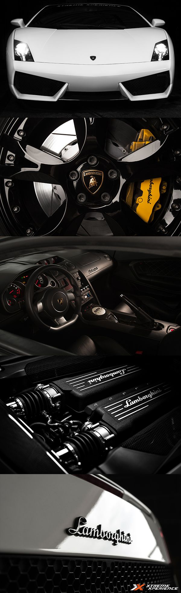Take a look around the world famous Lamborghini Gallardo. The Gallardo is Lamborghini's best selling vehicles and one the best looking cars on the road. It just so happens to be loads of fun on the track. Click the link to drive this supercar at a track near you.