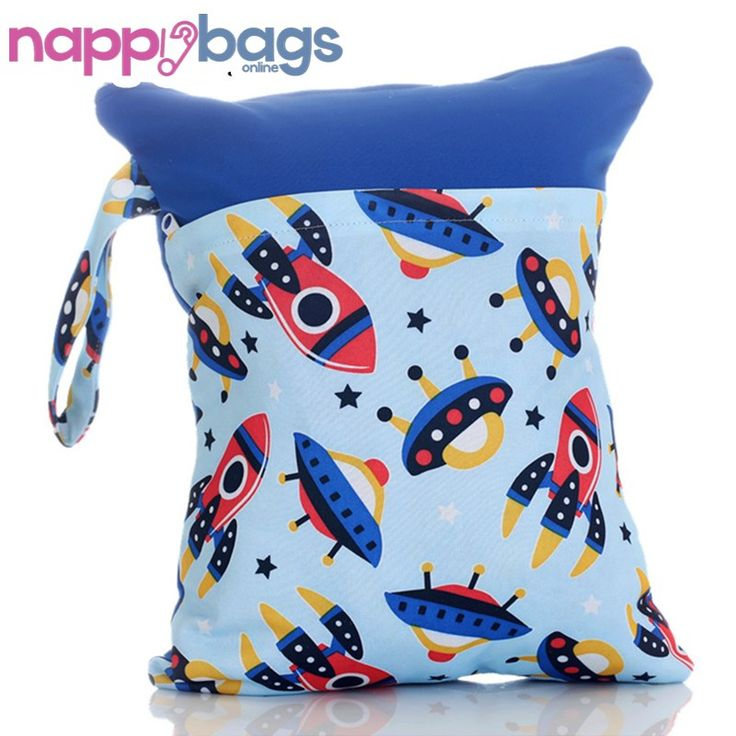 Space Time Waterproof Nappy Wet Storage Bag //Price: $16.60 & FREE Shipping //     #clothnappies