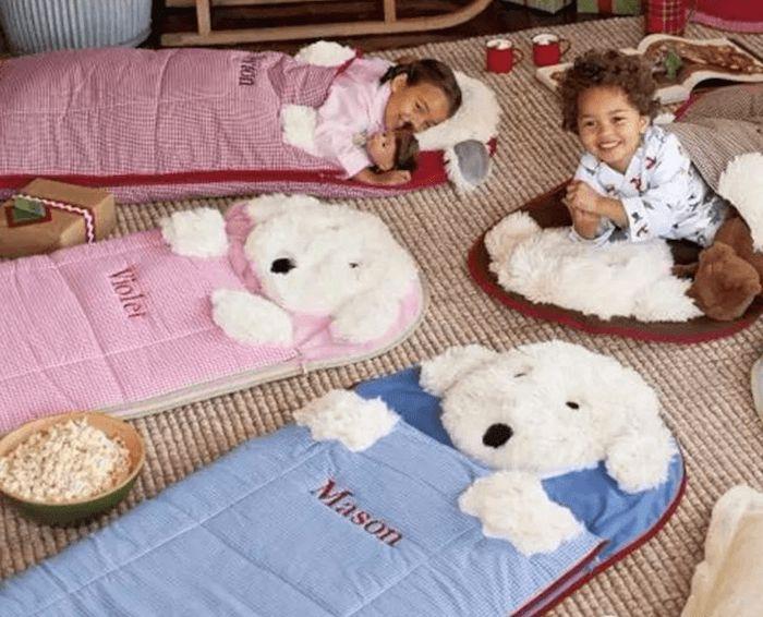 como hacer un saco de dormir para niños