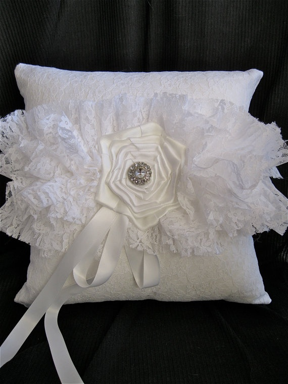 Sale  Lolita Snow Shabby Chic Lace Larger by VanOraCreations, $40.00