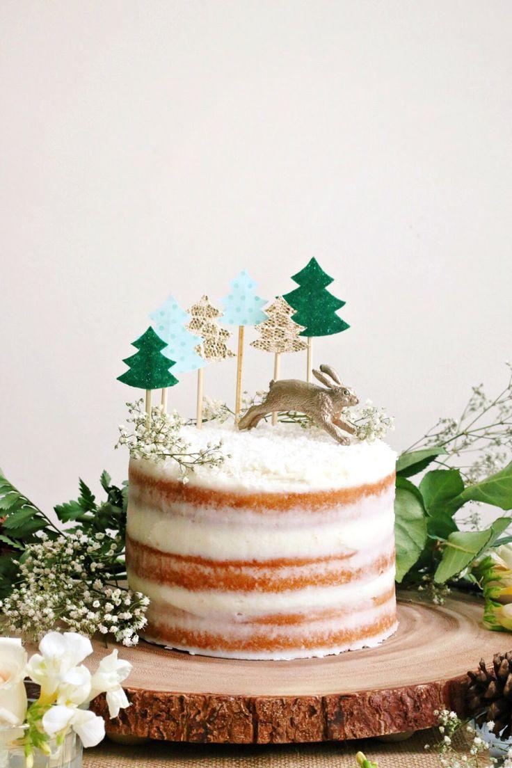 Constellation Inspiration: Coconut Chai Cake + Coconut Buttercream
