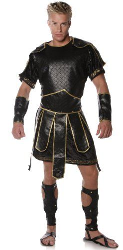 The Best Gladiator Costume for Men .... Minus the skirt and sandals.