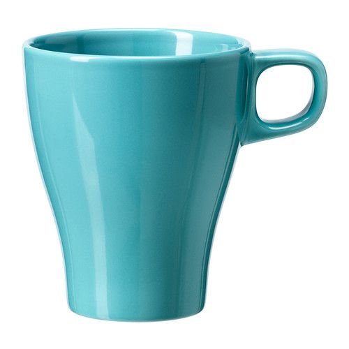 FÄRGRIK Mug, turquoise