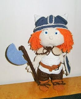 Tommy the viking from Havva Design