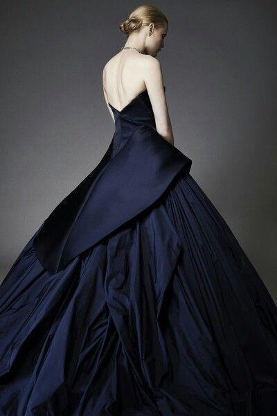Would SOOOOO wear as a wedding dress! Simply STUNNING!