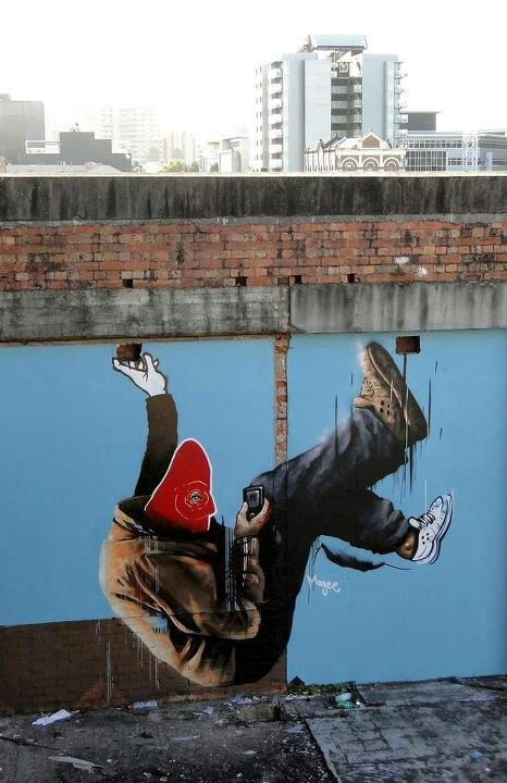 Wicked street art and graffiti. Fintan Magee