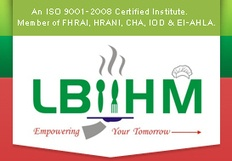 LBIIHM Best Hotel Management Courses Institute India, Top Bachelor Degree colleges of Hotel management