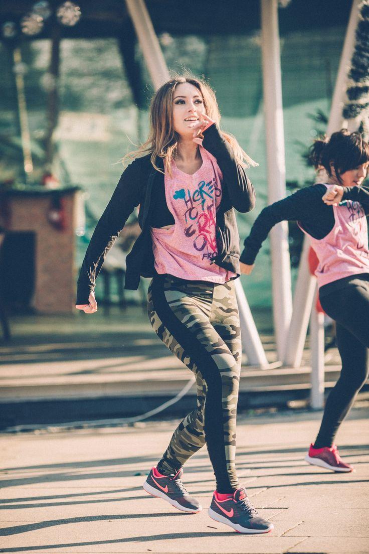 Tamara and #urbhanize #dance #fitness #hiphop #bhangra #dancelife