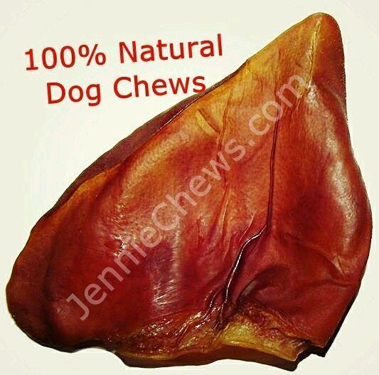 Natural Pig Ears for Dogs / Pets - Bulk Dog Treats & Dog Chews, Made in the USA #JennieChewscom