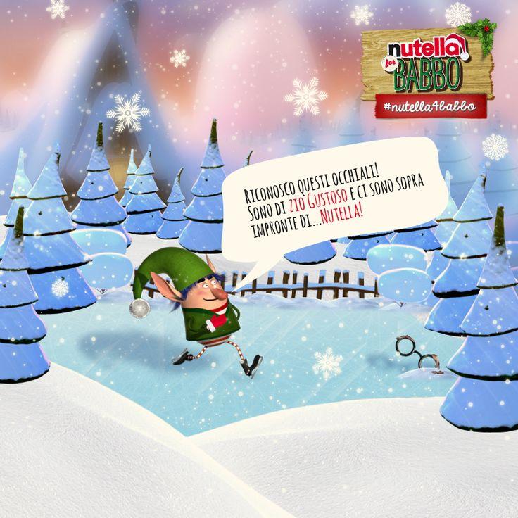 Elfo ha deciso di fare una bella pattinata sul ghiaccio. Niente di meglio per rilassarsi un po'! Ma il mistero della #Nutella scomparsa sembra non dargli tregua… Fategli sentire il vostro sostegno!