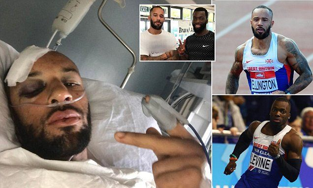 James Ellington and Nigel Levine in hospital  Olympic sprinter James Ellington has suffered potentially career-ending injuries and says he is 'lucky to be alive' after a head-on motorbike crash while on a warm-weather training camp in Tenerife .  #ZincLegal #Personalinjury