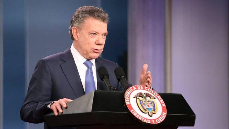 Nobelprijs voor de Vrede naar president Colombia - NOS