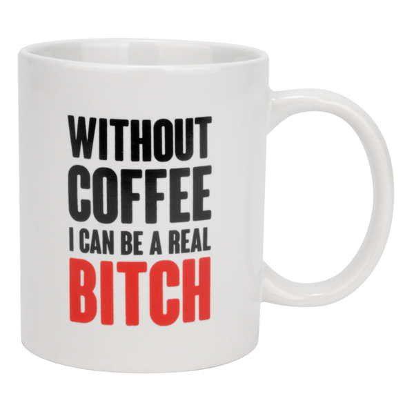 Mug - Without Coffee – LittleGiftShop.ca