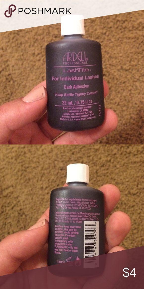 Ardell LashTite Used once. Dark semi permanent lash glue Ardell Makeup False Eyelashes