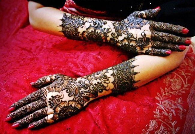 Latest Mehndi Design For Bridals 2013