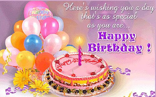 birthay wishes for facebook | Sending Free Birthday Greetings but Eye-Catching via Facebook