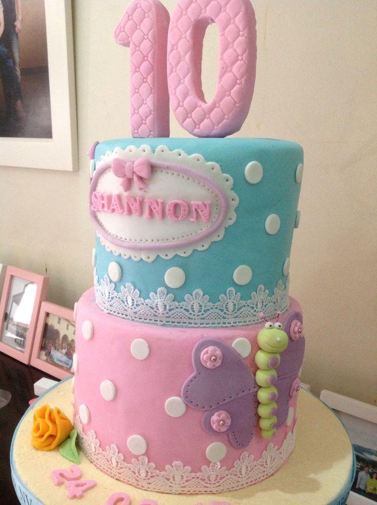 Butterfly fondant cake by NV Cakes | Cake