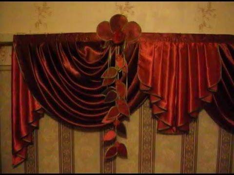 ✄✄видеоурок пошив цветка из ткани для штор ч  2✄✄