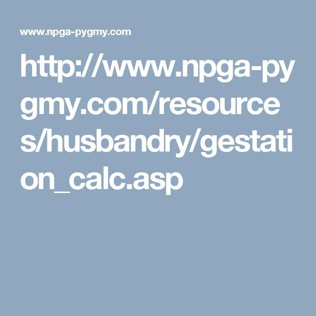 http://www.npga-pygmy.com/resources/husbandry/gestation_calc.asp