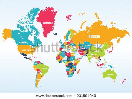 24 best my images on Pinterest World maps, Asia map and Learning - copy world map vector graphic