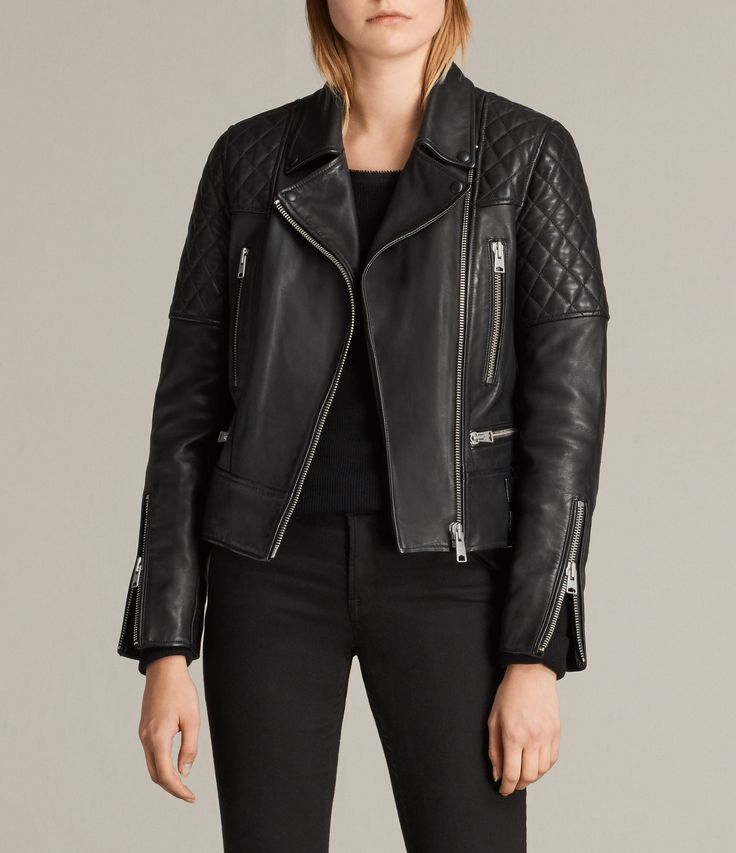 Esher Leather Biker Jacket